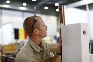 Dylan Ennis c/o 2009 competes in World Skills International (click to see more)