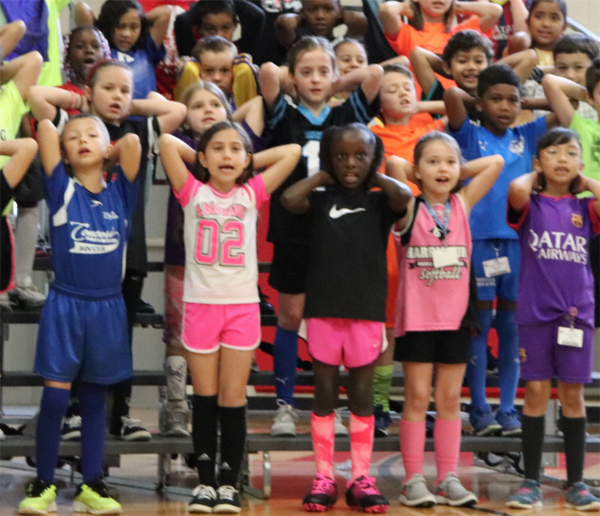 Second Grade Performs GOAL