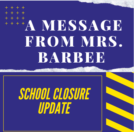 Parent Newsletter- School Closure Edition