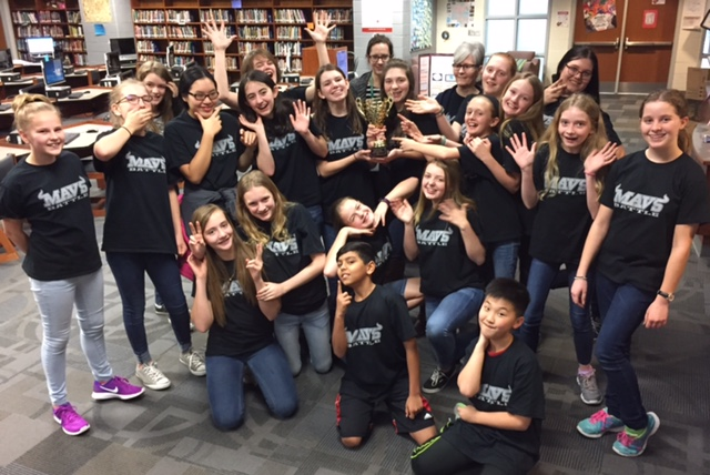 battle of the books student team 2017