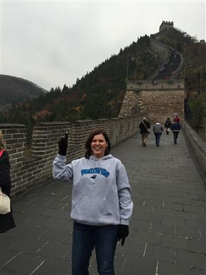 I made it to the Great Wall!