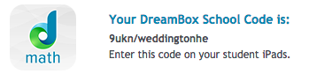 Dreambox School Code