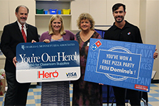 Hometown Hero Spnsored by Dominos Pizza and Monnett & Associates