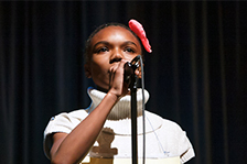 Joy Jackson, 2014 Cabarrus County Schools Spelling Bee Champion