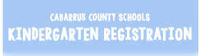 Kindergarten Registration, 2016-2017 School Year