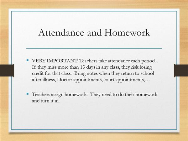 middle school absences essay Middle school information  excessive tardiness and absences from school can impede academic growth on days when it is necessary for students to be absent from .